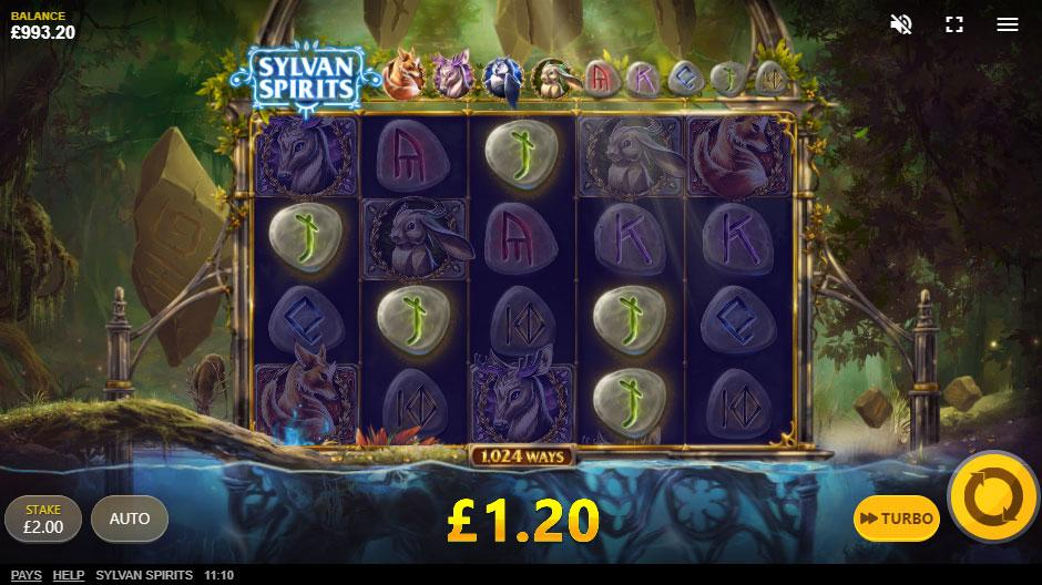 Sylvan Spirits Slot RTP: Sylvan Spirits slot has 95.77% RTP, meaning in longer sessions you will get most of your money placed on bets back.