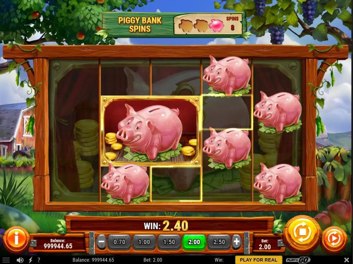 Piggy Bank Farm Symbols: As soon as there is an update about the game, we will give you further information about the symbols featured at Piggy Bank Farm slot.