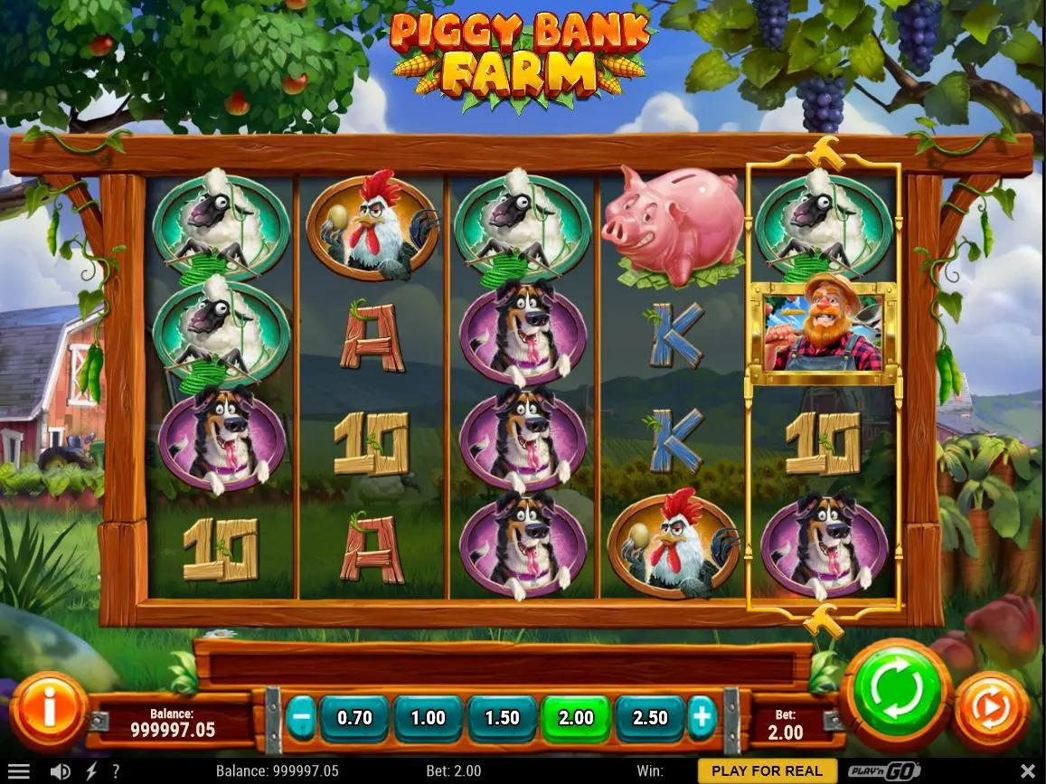 Piggy Bank Farm Paytable: Themed prize symbols and Free Spins with Multipliers will also be present, however, Play'n GO has not still specified how to trigger them.