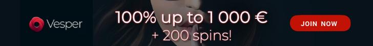 Vesper Bonus Banner