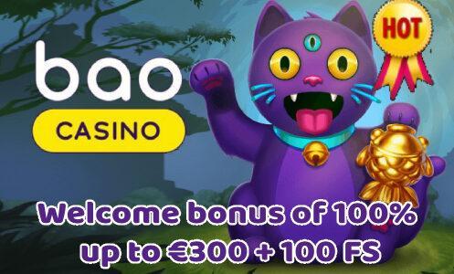 Bao Casino Welcome Bonus