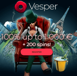 Vesper Casino Bonus