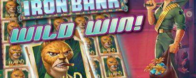 MadMax Casino player won at Iron Bank slot