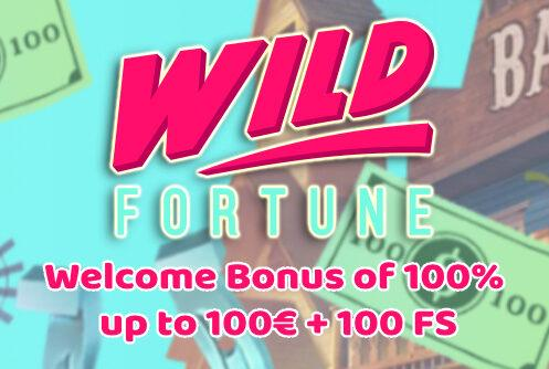 Wild Fortuen Casino Welcome Bonus