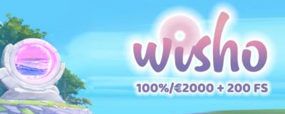 wisho casino bonus