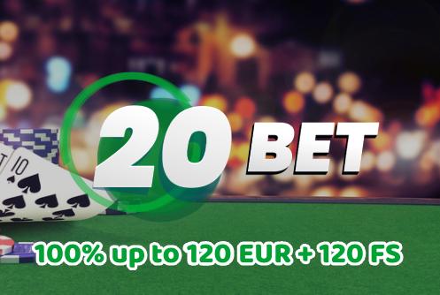 20 Bet Casino Promo
