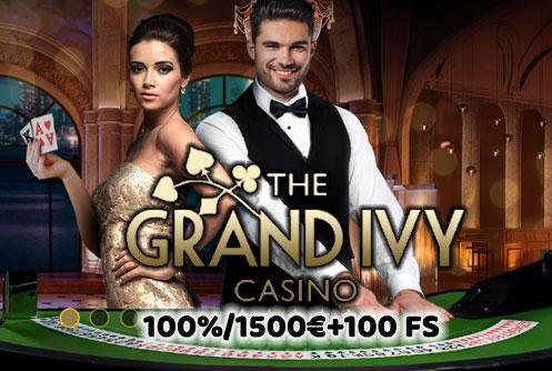 The Grand Ivy Casino Bonus