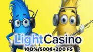 LightCasino Bonus