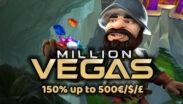 MillionVegas Casino Welcome