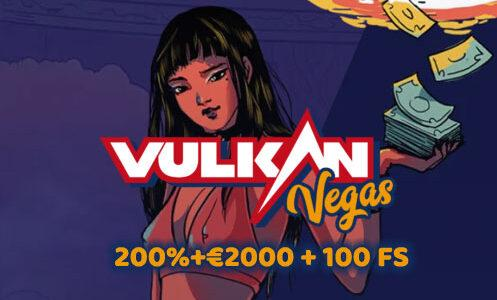 VulkanVegas Casino Welcome