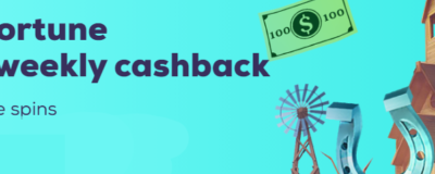 Wild Fortune Casino Weekly Cashback