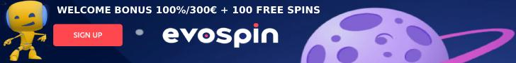 Evospin Casino Banner