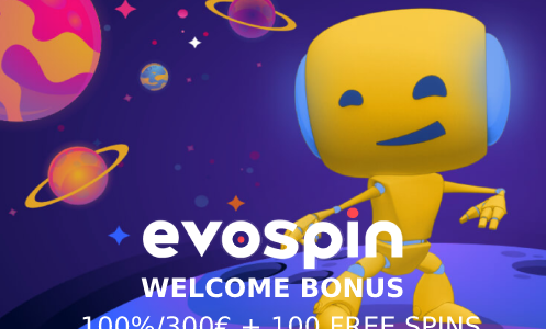 Evospin Casino Welcome Bonus