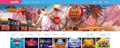 Evolve Casino screenshot