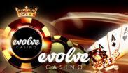 Evolve Casino Welcome Bonus