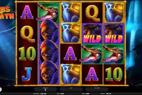 Apes of Wrath Slot Screenshot