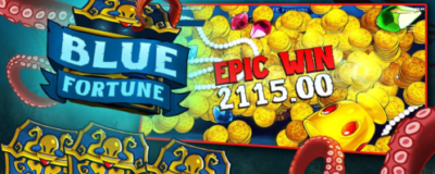 Blue Fortune Slot is developed by Quickspin