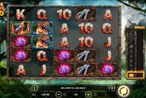 Lava Gold Slot screenshot