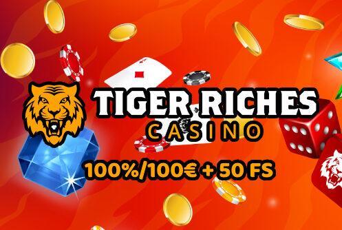 Tiger Riches Casino Promo