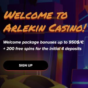 Arlekin Casino Bonus