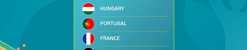 EURO 2021: Group F