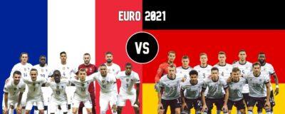 EURO 2021 Germany vs France