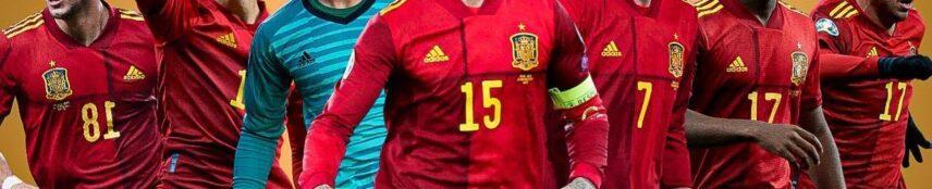 EURO 2021 Spain Team