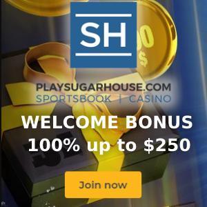 SugarHouse Casino Bonus