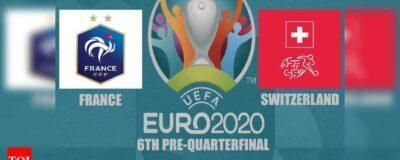 EURO 2021: Switzerland vs France
