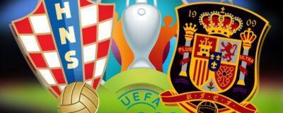 EURO 2021: Spain vs Croatia