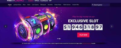 Party Casino Screenshot
