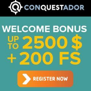 Conquestador Casino Bonus