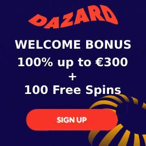 Dazard Casino Bonus