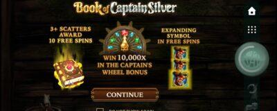 Book of Captain Silver Slot