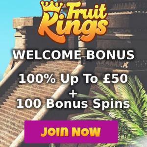 FruitKings Casino Bonus