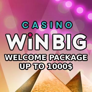 Casino WIN BIG Bonus