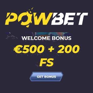 PowBet Bonus